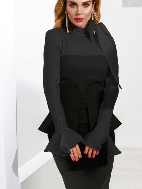 Блуза черная Gepur 5281878