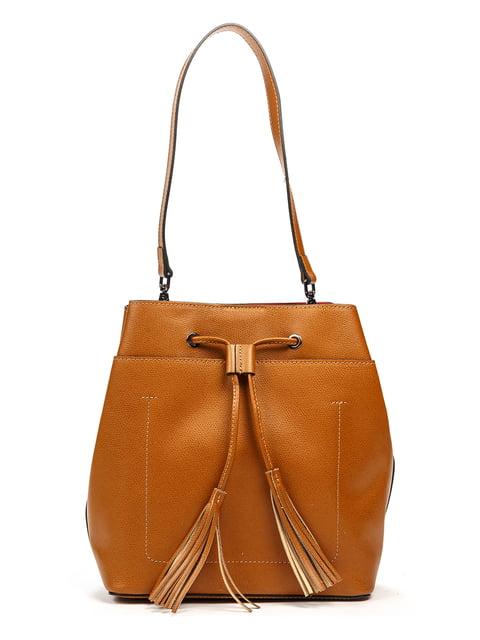 Сумка кольору коньяку Italian Bags 5303405