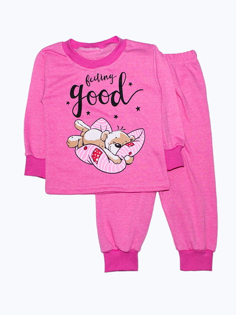 Піжама рожева Малыш 5303569