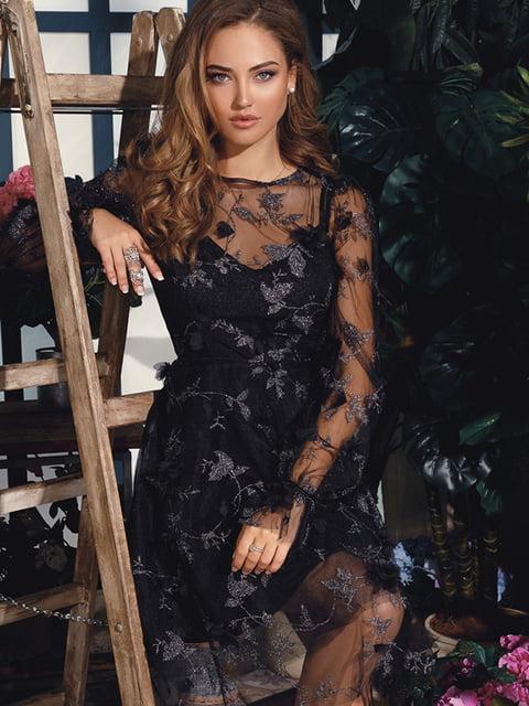 Платье черное Gepur 4758950