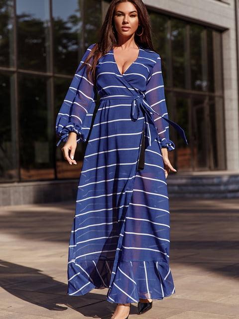 Платье синее Gepur 5219224