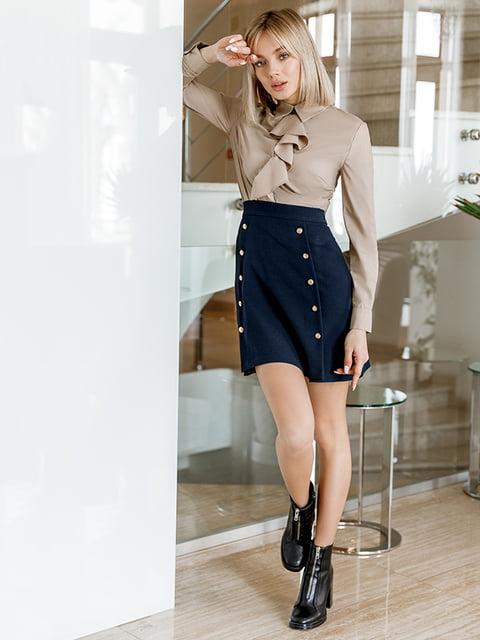 Блуза бежевая Gepur 5258823