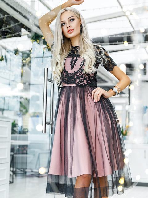 Платье бежевое Gepur 5281715