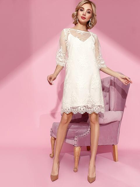 Платье белое Gepur 5281723