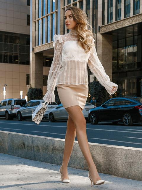 Блуза белая Gepur 5281730