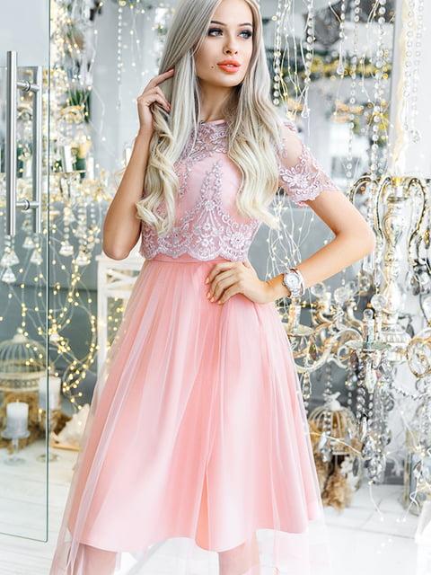 Платье розовое Gepur 5281783