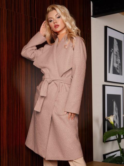 Пальто розовое Gepur 5291067