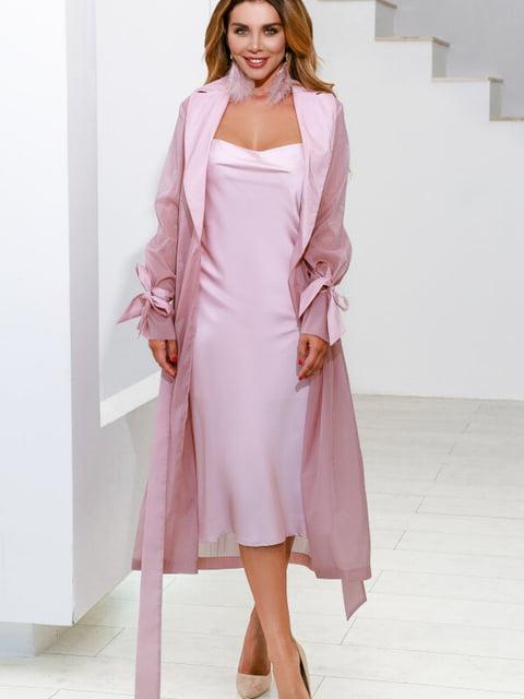 Плащ розовый Gepur 5291091