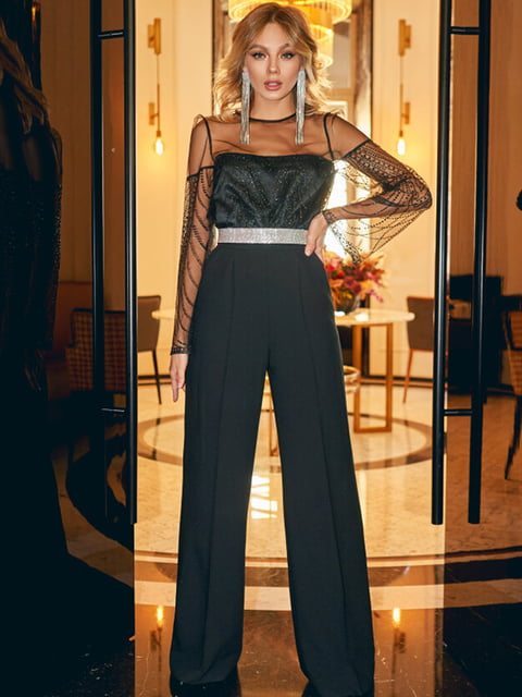 Блуза чорна Gepur 5305451