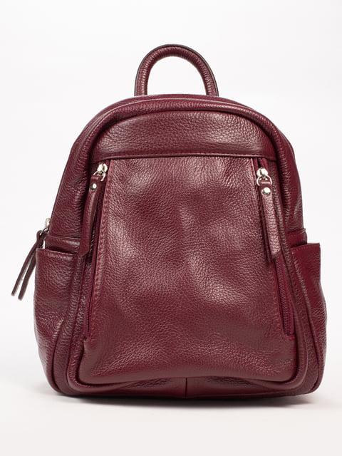 Рюкзак кольору марсали Firenze 5312779