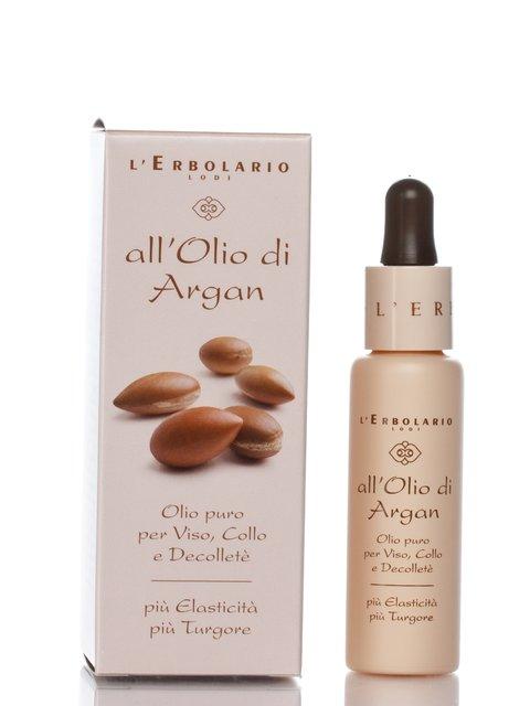 Олія для обличчя, шиї і декольте на основі арганії (28 мл) L'erbolario 789412