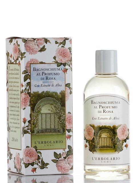 Піна для ванни ароматизована «Троянда» (250 мл) L'erbolario 688547