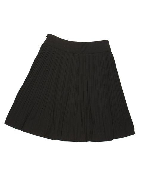 Юбка черная со складками-плиссе Olimpia 449565