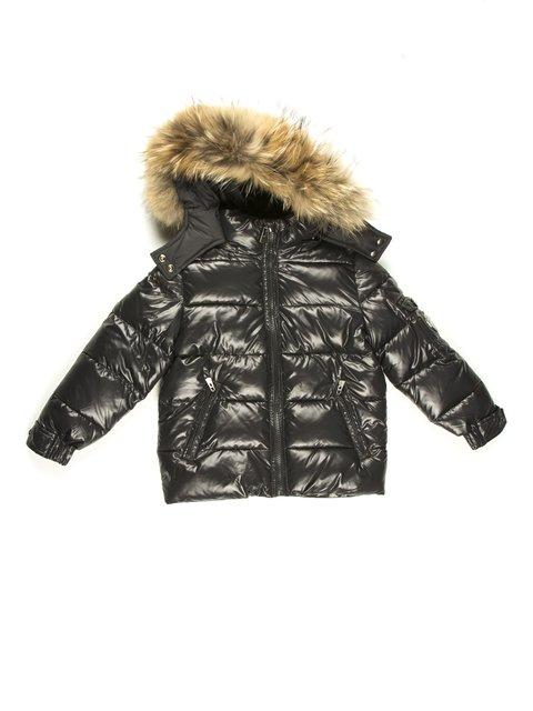 Куртка чорна De Salitto 629056