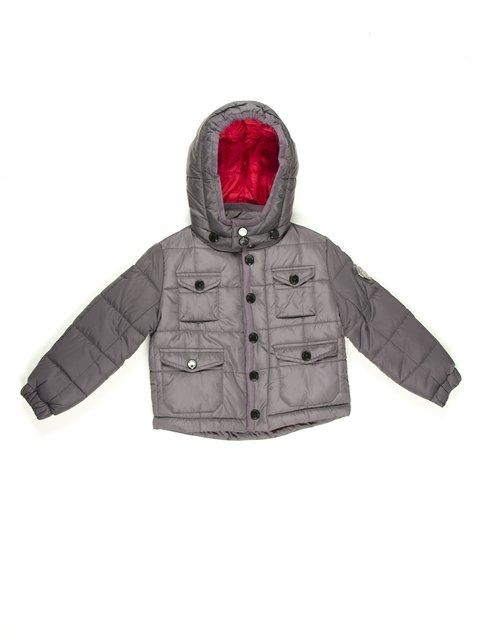 Куртка серая De Salitto 629059