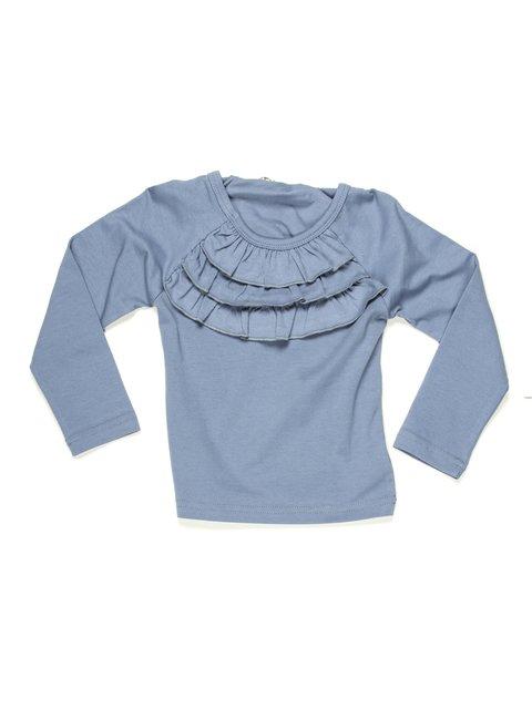 Реглан синій з триярусною оборкою IYAM 597136