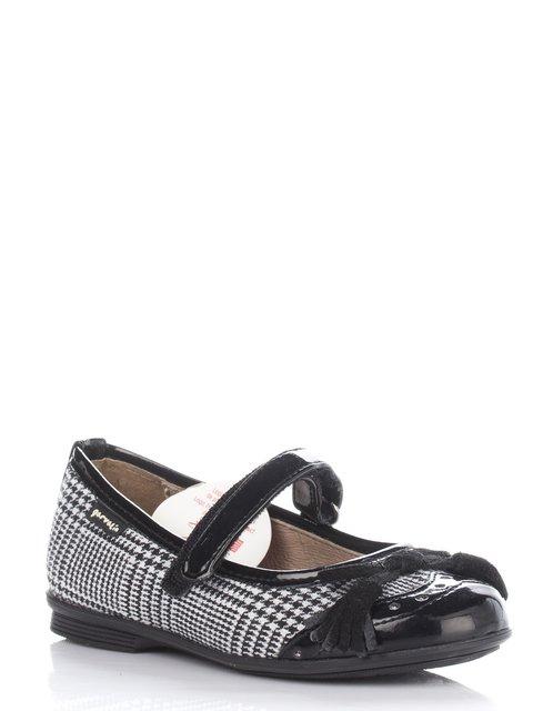 Туфли в гусиную лапку с бантиком Garvalin 677921