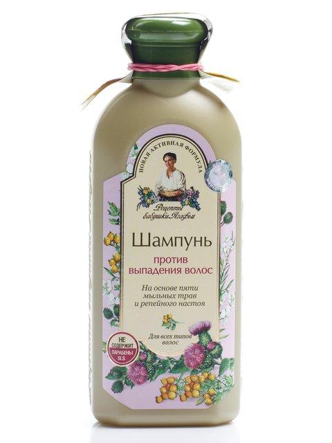 Шампунь «Сбор для волос против выпадения» (350 мл) Рецепты Бабушки Агафьи 434031