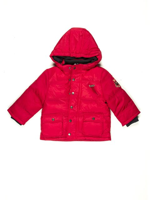 Куртка червона Jacadi 597240